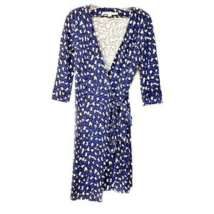 DIANE VON FURSTENBERG Wrap Dress New Julian Two